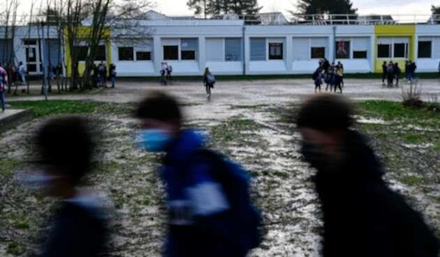 Reapertura de colegios en Francia