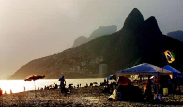 Playa de Copacabana, Río de Janeiro, Brasil