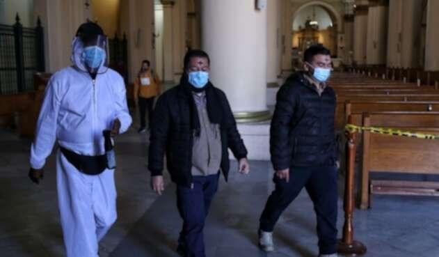 Así se celebró el miércoles de ceniza en medio de la pandemia