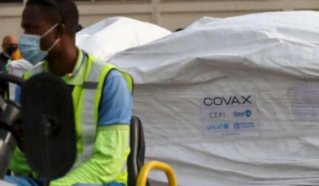 Llegada de vacunas deCovax a Ghana