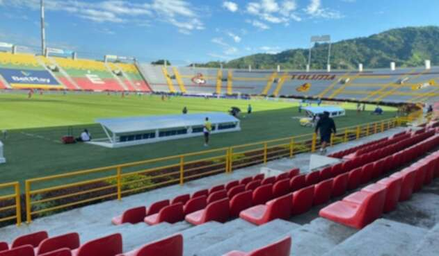 Estadio Manuel Murillo Toro, 2021.