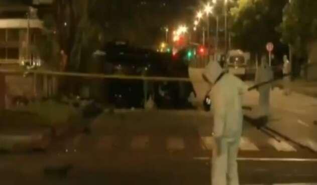 Implicado en accidente que dejó tres muertos en Bogotá huyó del lugar