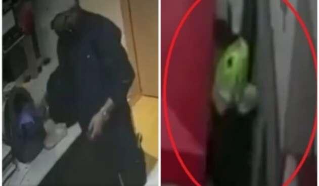 Delincuente logra huir tras robo