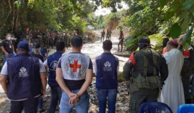 Liberación Militares Catatumbo
