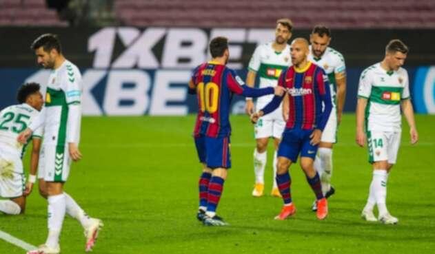 FC Barcelona Vs. Elche - Liga de España