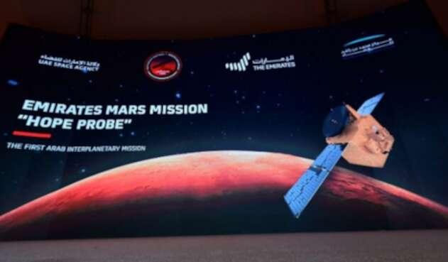 Sonda emiratí Hope llega a la órbita de Marte