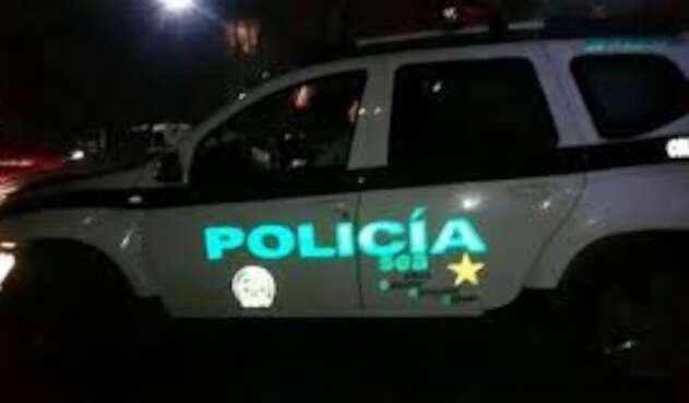 Patrulla de Policía en Norte de Santander