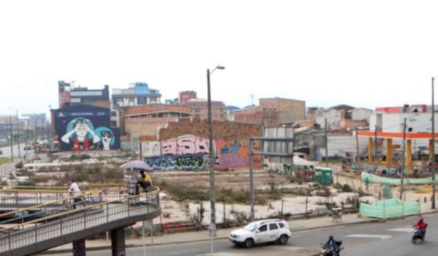 Primeras imágenes de casas demolidas por donde pasará el Metro de Bogotá