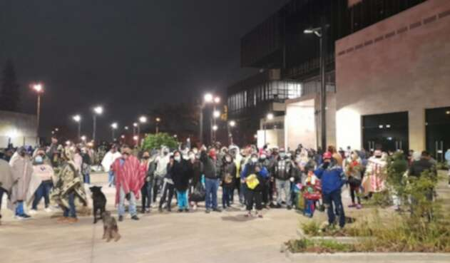 Protesta Ciudad Bolívar