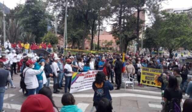 Protesta de gastrobares