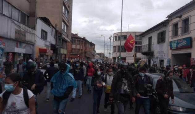 Protestas de estudiantes en Bogotá, 24 de febrero