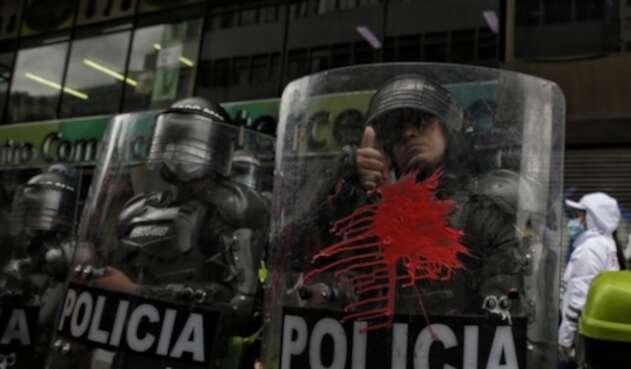 Protestas en Bogotá - Esmad