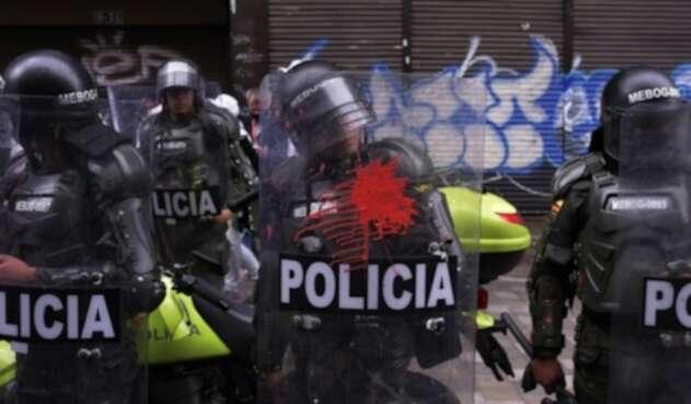 Disturbios en Bogotá el 24 de febrero de 2021