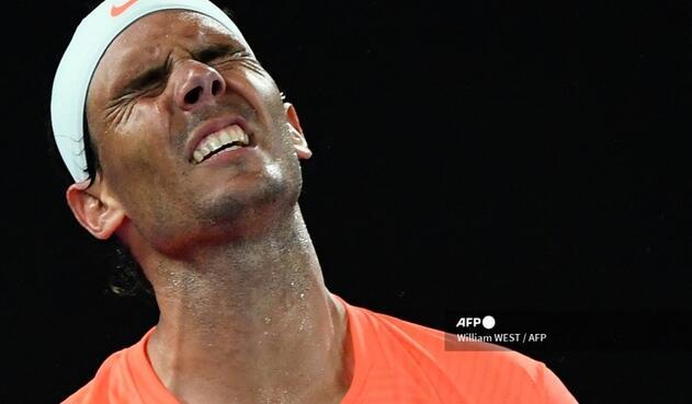 Rafael Nadal cayó en el Abierto de Australia