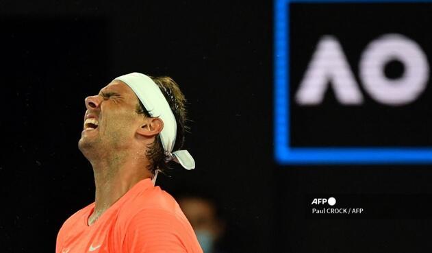Rafael Nadal perdió en el Abierto de Australia.