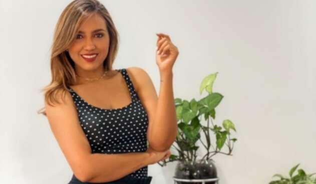 Tatiana Franco, presentadora colombiana