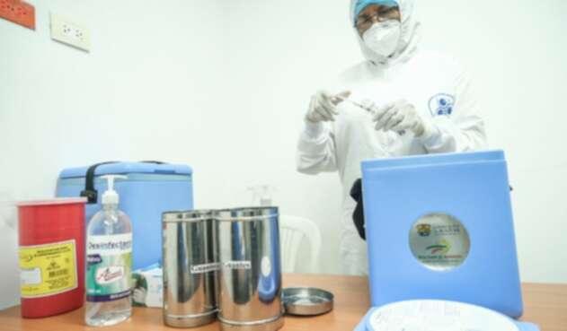 Vacunación contra el covid-19 en Cartagena