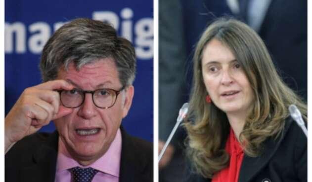 Paloma Valencia criticó a José Miguel Vivanco, de HRW