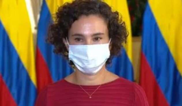 Viviana Taboada, hija de Alicia Arango