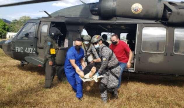 Capturados, ELN, recuperacion, menor, Arauca