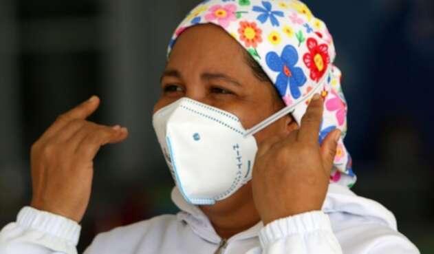 La mujer será la primera vacunada en Barranquilla.