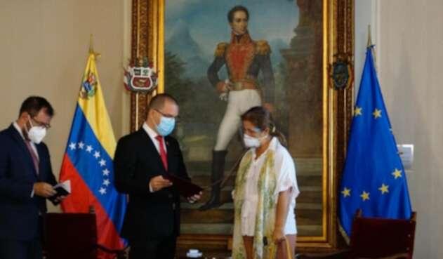Venezuela expulsa a la Embajadora de la UE