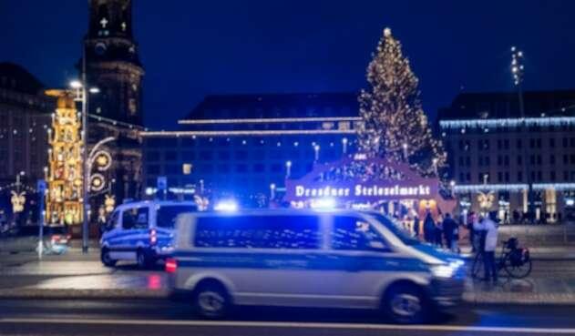 Ambulancia en Dresde, Alemania