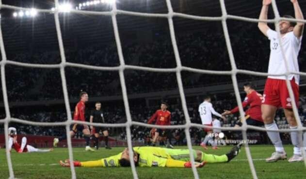Georgia vs España - Eliminatorias