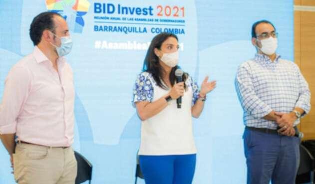 Karen Abudinen en Asamblea del BID