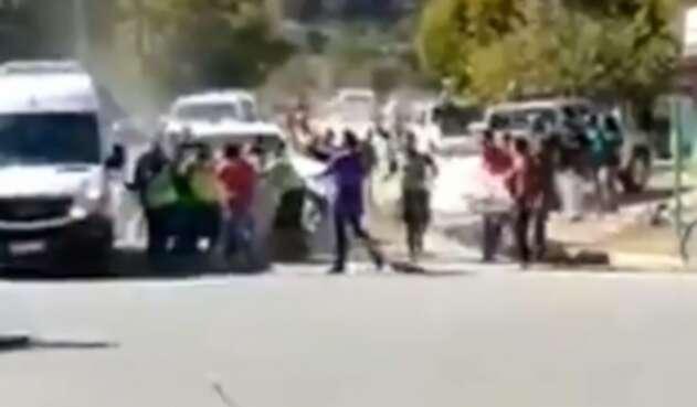 Ataque a camioneta del presidente argentino, Alberto Fernández