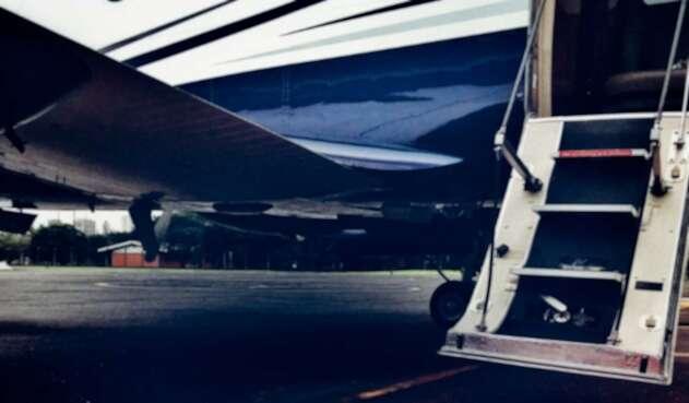 Avión de la plataforma Flapper, un uber pero con aeronaves