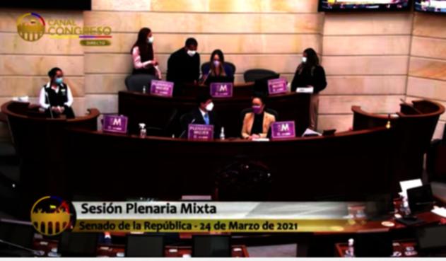 Senado de la República Mujeres