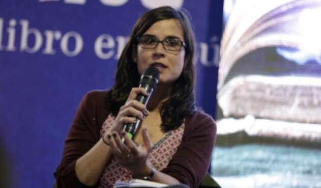 Carolina Sanín, profesora universitaria
