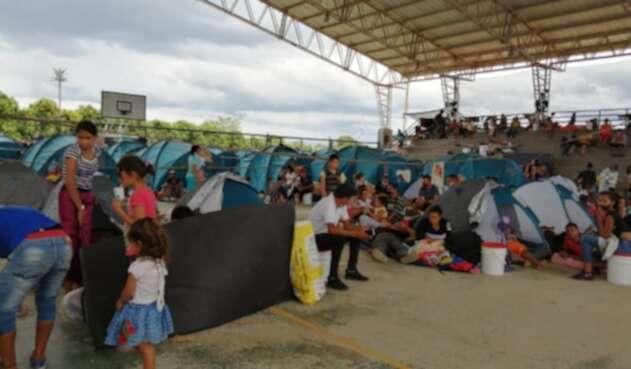 Desplazamiento forzado en Arauca