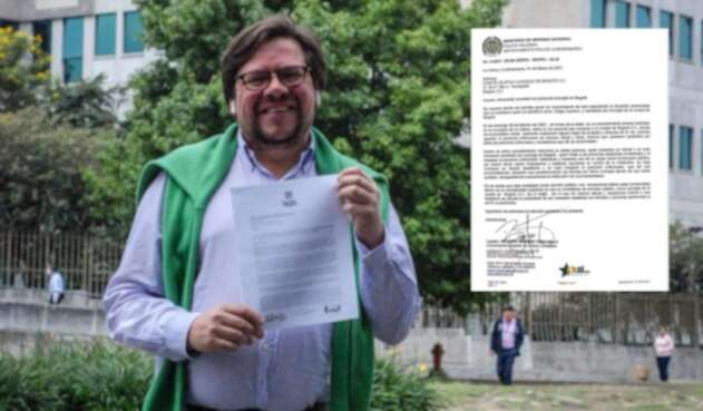 Diego Cancino, concejal de Bogotá, de la Alianza Verde