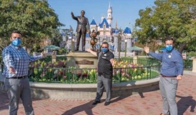 Disneyland reabre en pandemia