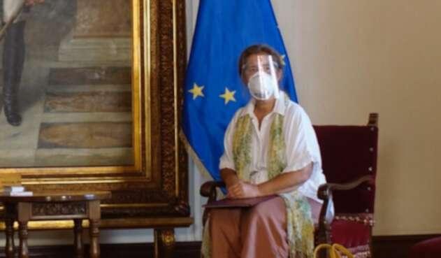 Embajadora de la UE en Venezuela, Isabel Brilhante Pedrosa