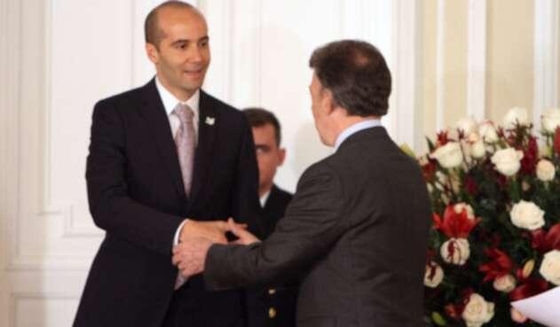 Enrique Riveira Bornacelli, secretario privado de la Presidencia de Santos