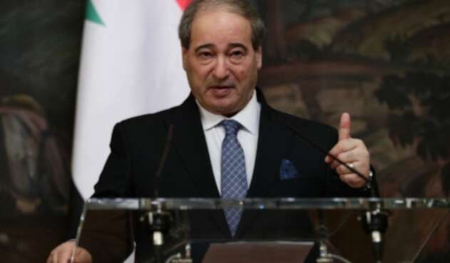 Sancionan a Faisal Moqdad, ministro de Relaciones Exteriores sirio