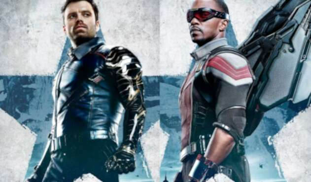 Afiche de Falcon y el Soldado del Invierno