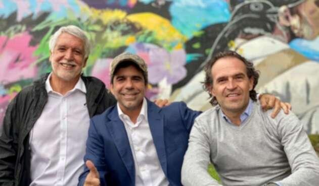 Enrique Peñalosa, Alejandro Char, Federico Gutiérrez