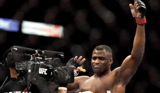 Francis Ngannou, peleador de UFC
