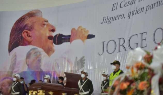 Funeral de Jorge Oñate