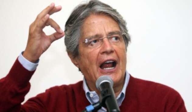 Guillermo Lasso, candidato presidencial en Ecuador