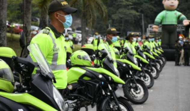 Motos policía