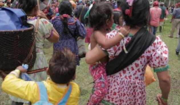 Violencia contra indígenas