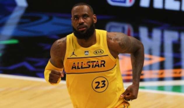 LeBron James - Juego de las estrellas - NBA
