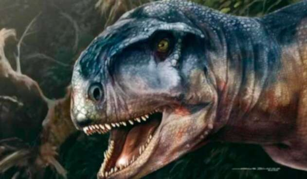 Dinosaurio Llukalkan aliocranianus