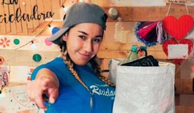 Marce La recicladora youtuber