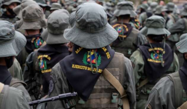 Militares venezolanos están enfrentados con disidencias de las Farc.